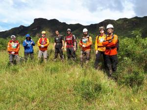 Resgate no Pico Garuva - Pico Jurema (SC)